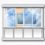 Алюминиевые балконы и окна