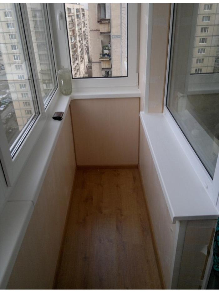 Балкон 97 серии внутри