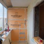 Утепление балкона и остекление