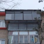 Замена старого балкона