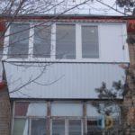 Балкон с выносом в Челябинске