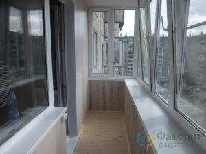 Балкон пластиком