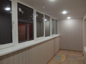 Балкон с отделкой Челябинск