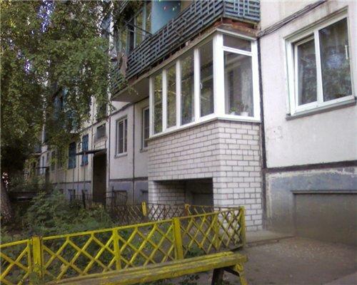 Балкон на первом