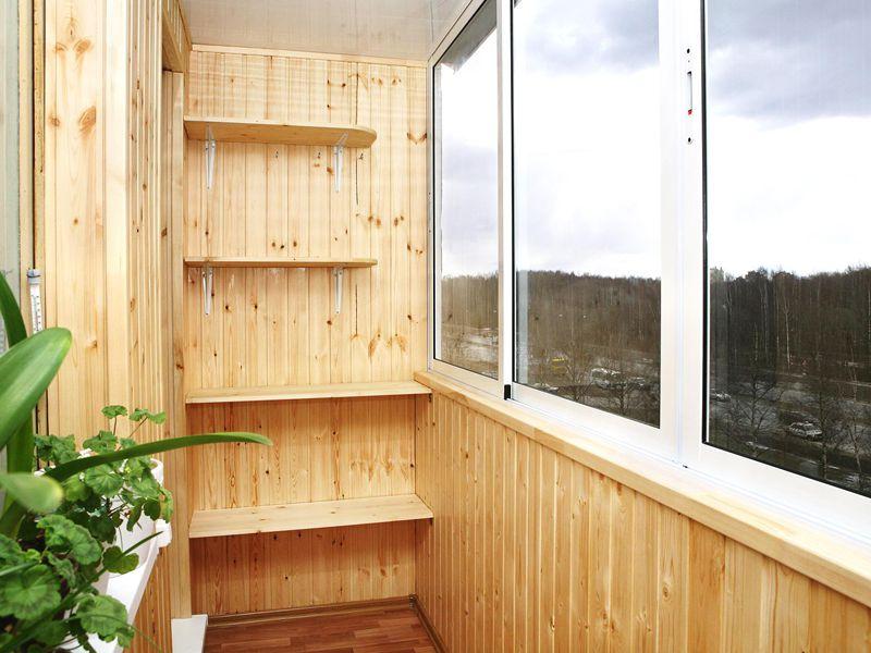 Балкон вагонка