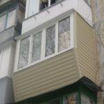 Вынос на балконе