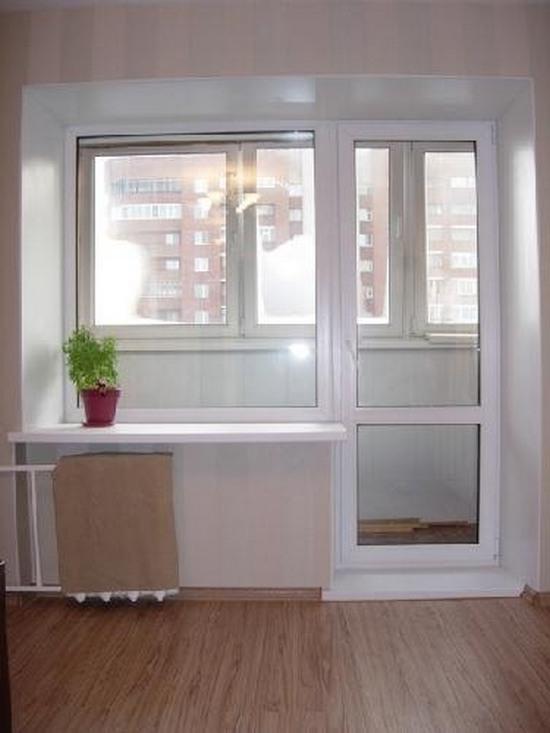 Заказать двери на балкон