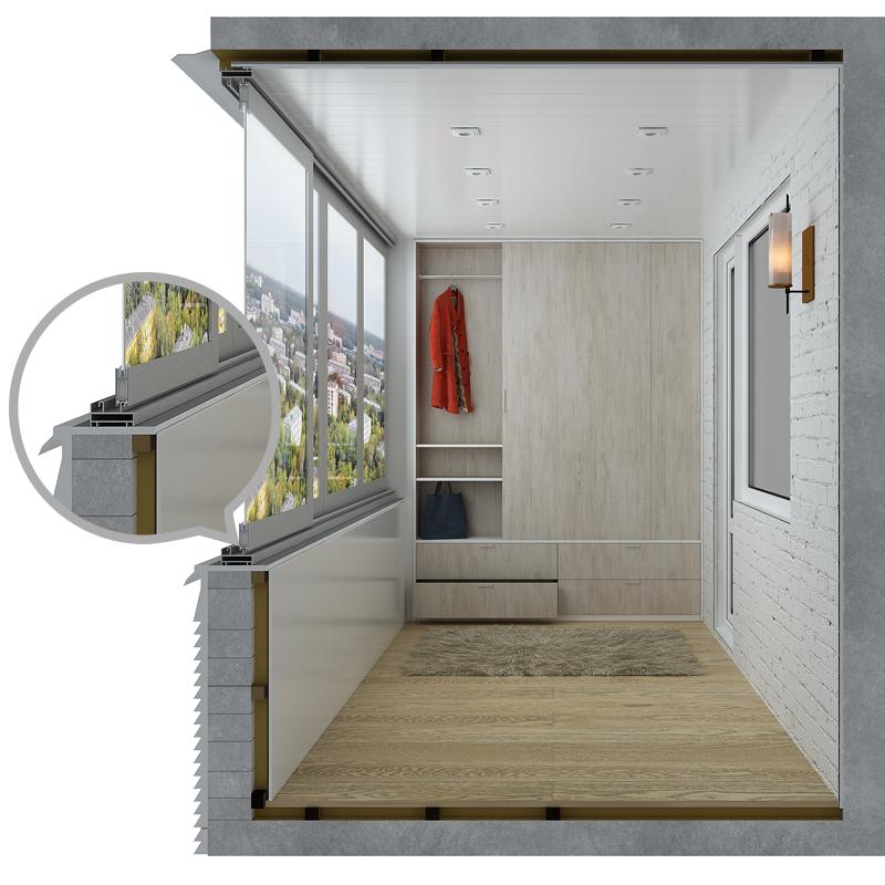Отзывы про алюминиевые балконы