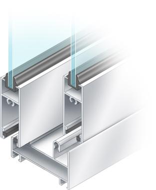 Холодное алюминиевое остекление (алюминиевый балкон).