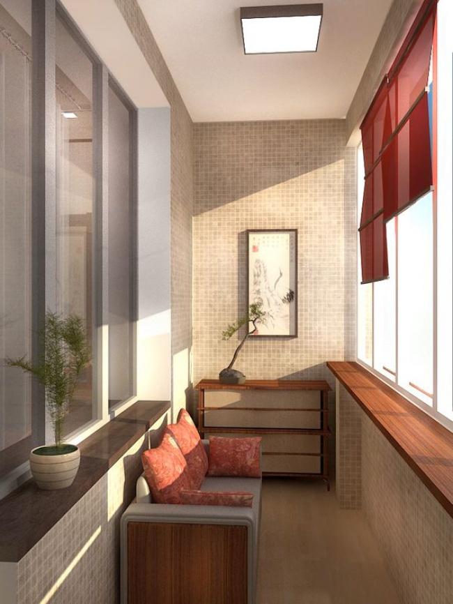 Какой интерьер для балкона выбрать