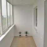 Материал отделки балкона - штукартурка