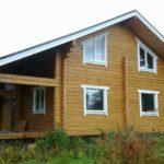 Окна ПВХ в деревянный дом