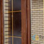 Коричневые окна для дома