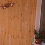 Отделка балкона деревом в Челябинске