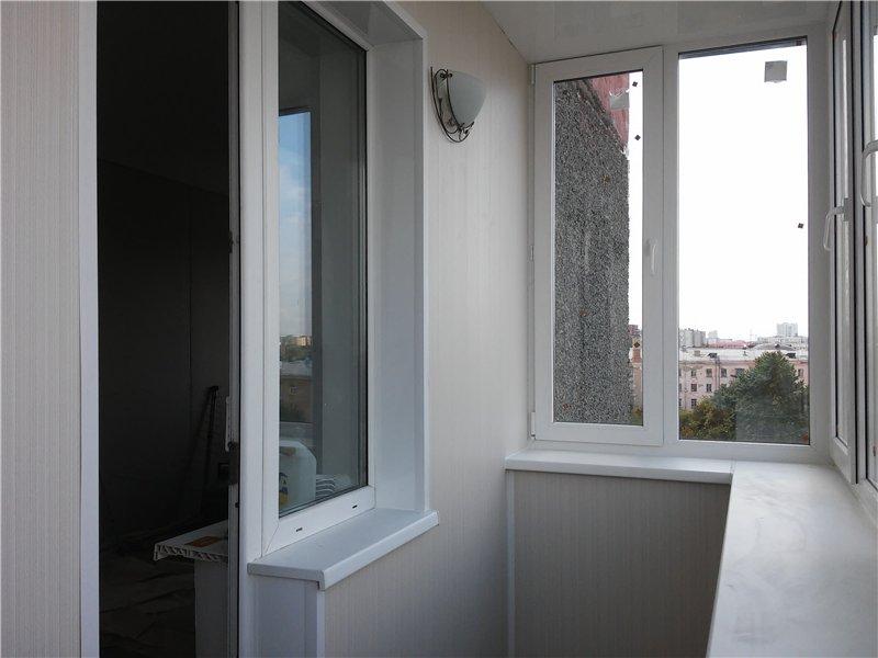 Отделка балконов и лоджий 97 серии