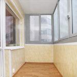Отделка балкона пластиком внутри