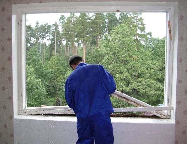 Замена окон в кирпичных домах