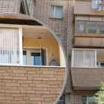 Балкон с установкой