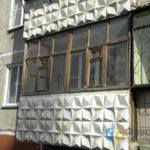 Заменить старый балкон
