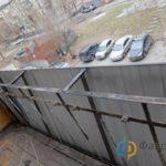 Сварить вынос для балкона
