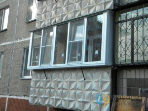 Купить пластиковый балкон