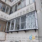 Бакон ПВХ и решетки на балкон