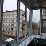 Балкон в пятиэтажке