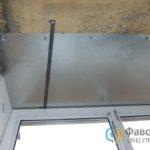 Монтаж верхней части балкона