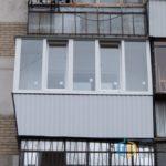 Пластиковый ПВХ балкон